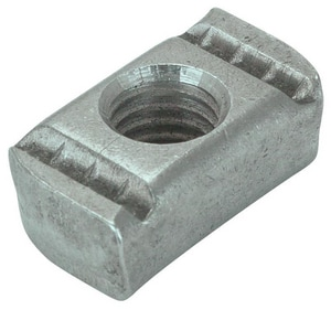 FNW® Figure 7820 5/8 x 0.50 in. Electro-galvanized Steel Channel Nut (Less Spring) FNW7820DZ0062