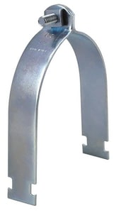 FNW® 5 in. OD Plated Strut Clamp With Hardware FNW7872Z0500
