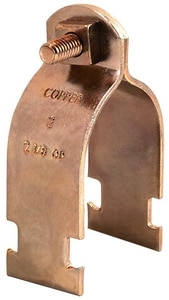 FNW® 2 in. Copper Strut Clamp With Hardware Pre-assembled FNW7870C0200