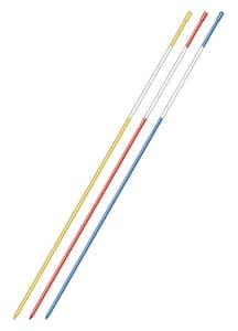 Hy Viz Inc 4 ft. Board Marker in Blue and White (30 Pack) HHVBFM4B at Pollardwater
