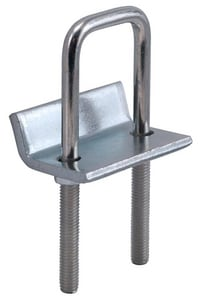 FNW® Figure 7804 3-1/4 in. Yellow Zinc Dichromate Strut to Beam Clamp with Square U-Bolt FNW7804Y