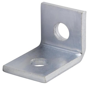FNW® Figure 7842 1-5/8 x 2-1/4 in. 2 Hole 316 Stainless Steel Cross Corner Angle Fitting FNW7842S62