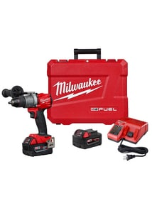 Milwaukee M18 Fuel™ Cordless 18V 1/2 in Hammer Drill/Driver Kit M280422 at Pollardwater