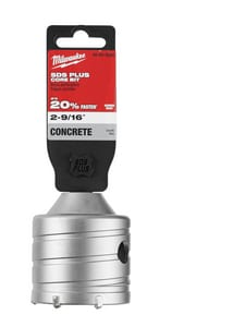 Milwaukee 2-9/16 in. SDS-Plus Masonry Core Bit for SDS Max Rotary Hammers M48205230
