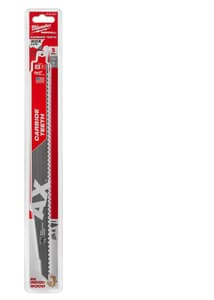 Milwaukee The Torch™ Sawzall® 12 in. 5 TPI Carbide Teeth Reciprocating Saw Blade (5 Pack) M48005527