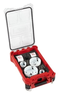Milwaukee HOLE DOZER™ General Purpose Hole Saw Kit 10-Piece with Packout Compact Organizer M49225606