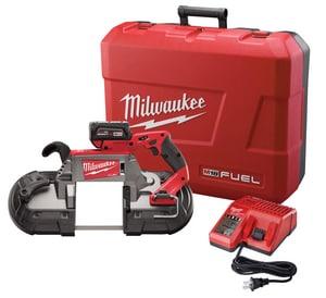 Milwaukee® M18 Fuel™ Cordless 18V Redlithium™ Band Saw Tool Kit M272921 at Pollardwater