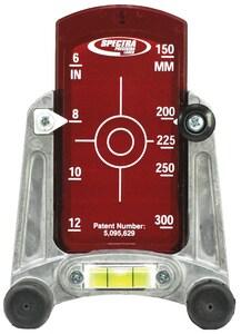 Trimble Navigation 6 - 15 in. Small Adjustable Pipe Laser Target T956 at Pollardwater