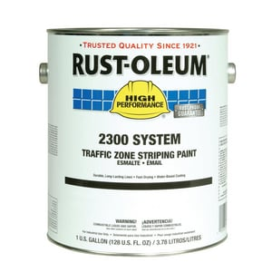 Rust-Oleum® Traffic Zone Striping Paint in White R2391402 at Pollardwater