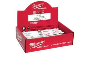 Milwaukee Sawzall® 6 in. 18 TPI Reciprocating Saw Blade M48017184