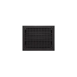 Signature Hardware Mission 9 x 12 in. Residential Cast Iron Floor Register in Black Powder Coat 917441-9