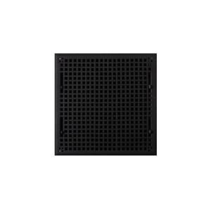 Signature Hardware Mission 14 x 14 in. Residential Cast Iron Floor Register in Black Powder Coat SH302198