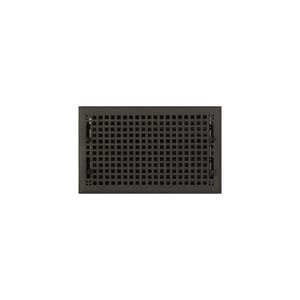 Signature Hardware Mission 8 x 14 in. Residential Bronze Floor Register in Bronze 915111-8