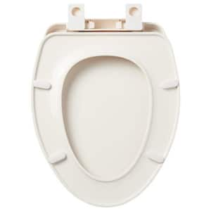 Signature Hardware Elongated Closed Front Toilet Seat with Cover in Biscuit SHTSSC202BS