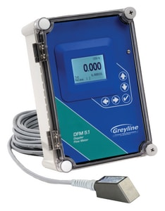 Greyline Instruments 240VAC DFM 5.1 Doppler Flow Meter Less Datalogger GDFM51A1A1A1A1A