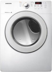 Samsung 31-13/100 x 38-37/100 in. 7.3 cf Gas Front Load Dryer in White SDV36J4000GWA3