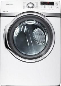 Samsung 27 in. 7.4 cf 120V Gas Dryer in White SDV405GTPAWR