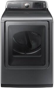 Samsung 7.4 cf Electric Front Load Dryer in Platinum SDV52J8700EP