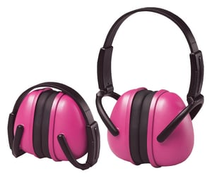 ERB Safety 239 Folding Earmuff in Pink E14242 at Pollardwater