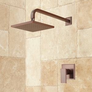 Signature Hardware Ryle Single Handle Single Function Shower Faucet in Oil Rubbed Bronze SH421606