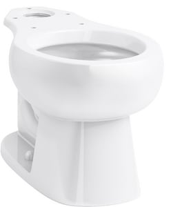 Sterling Windham™ 1.28 gpf Round Toilet Bowl in White S4030170