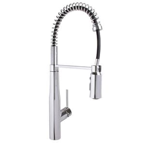 Speakman Neo™ Pull Down Single Handle Kitchen Faucet in Polished Chrome SSB1043