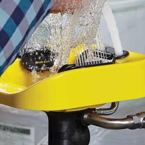 Speakman Optimus™ Pedestal Mount Eye Wash and Face Wash in Yellow SSE1100