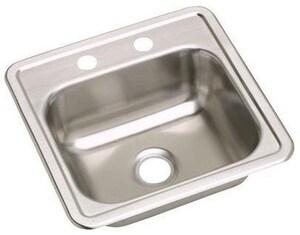 Dayton® Drop-In Hospitality Sink in Satin DDE115152