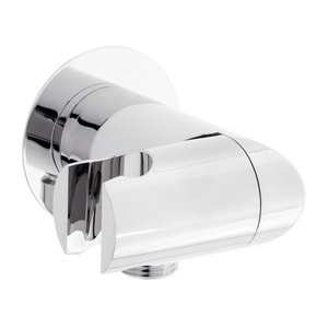 Signature Hardware Custom Showering Hand Shower Wall Supply Elbow in Polished Chrome MIRWES2050