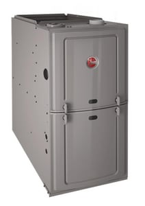 Rheem Classic® Series 14 in. 50000 BTU 80% AFUE 3 Ton Single-Stage Upflow and Horizontal 1/3 hp Natural or Propane Furnace R801SA050314MSA