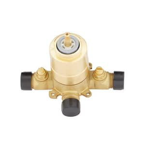 Signature Hardware Pendleton 1.8 gpm Shower Faucet Trim with Single Lever Handle in Polished Nickel SHPT8020GPN