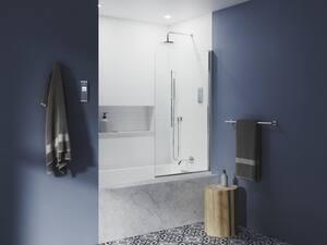 KOHLER Underscore® 60 x 32 in. Soaker Drop-In Bathtub with End Drain in White K1130