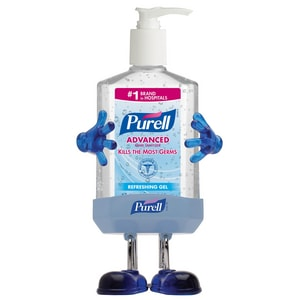 PURELL Advanced 8 oz. Advanced Instant Hand Sanitizer Pump G9600PL1