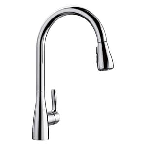 Blanco America Atura™ 1.5 gpm 1-Hole Deck Mount Kitchen Faucet with Single Lever Handle in Polished Chrome B442207