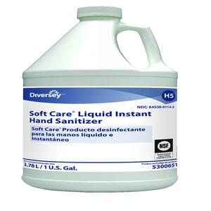 Diversey Soft Care® 1 gal Liquid Instant Hand Sanitizer D5300651