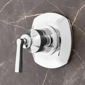 Signature Hardware Carraway Single Handle Bathtub & Shower Faucet in Polished Chrome (Trim Only) SHCR9005CP