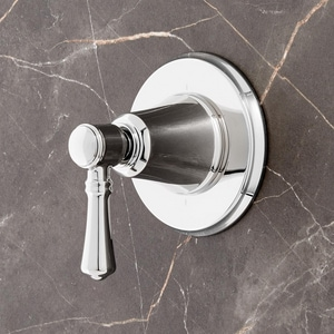 Signature Hardware St. Martin Single Handle Bathtub & Shower Faucet in Polished Chrome (Trim Only) SHSM9005CP