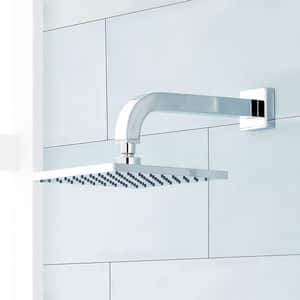 Signature Hardware Rigi 1.8 gpm Wall Mount Tub and Shower Faucet Trim with Single Lever Handle in Polished Chrome SHRI8020GCP