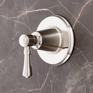 Signature Hardware St. Martin Single Handle Bathtub & Shower Faucet in Polished Nickel (Trim Only) SHSM9005PN