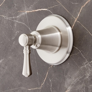 Signature Hardware St. Martin Single Handle Bathtub & Shower Faucet in Brushed Nickel (Trim Only) SHSM9005BN