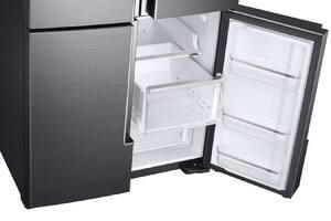Samsung 22.35 cf 115V 4-Door Refrigerator in Black Stainless Steel SRF28K9070SGAA