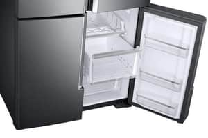 Samsung 22.05 cf 115V French Door Refrigerator with Food Showcase in Black Stainless Steel SRF28K9380SGAA
