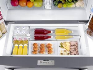 Samsung 23.5 cf French Door Bottom Drawer Refrigerator in Stainless Steel SRF24FSEDBSR
