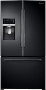 Samsung 27.8 cf French Door Refrigerator with Food Showcase in Black SRF28HDEDPBCAA