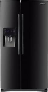 Samsung 24.5 cf 115V Side-by-Side Refrigerator with In-Door Ice Maker in Black SRS25H5111BCAA