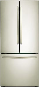 Samsung 21.6 cf 115V French Door Refrigerator with Integrated Ice Maker in Stainless Platinum SRF220NCTASPAA