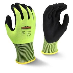 Radians Radwear® Silver Series™ Size L Plastic Slip Free Gloves RRWG10L at Pollardwater