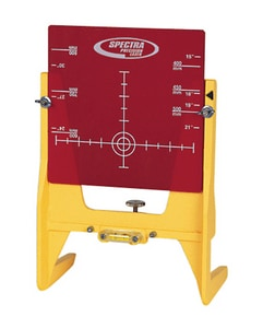 Telog Instruments Large Adjustable Pipe Target in Yellow and Red T936 at Pollardwater