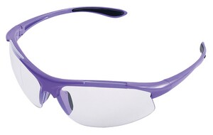 ERB Safety Ella Polycarbonate and Nylon Purple Safety Glass with Clear Lens ERB18624 at Pollardwater