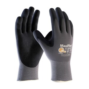 MaxiFlex® Ultimate™ S Size Nylon and Rubber Glove in Grey and Black (12 Pack) P34874S